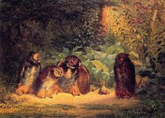 Owls painting