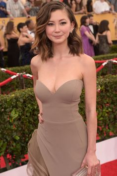 Kimiko Glenn is so much hotter in Real Life. I still love her in Orange Is The New Black though!!