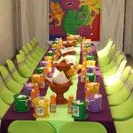 Barney Theme Birthday Party Ideas