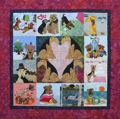"""Airedale Rescue Quilting Bee: PRESENTING """"CalendAIRE"""", THE 2015 AIREDALE RESCUE ..."""