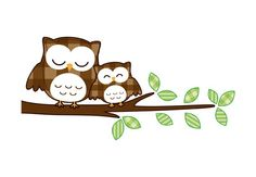 Sleeping Owls Wall Sticker by K&L Wall Art- an easy, affordable way of pushing your interior design to new limits. Enjoy decorating your home with our beautiful wall stickers. Kids Bedroom Accessories, Having A Baby Boy, Cute Owl, Beautiful Wall, Wall Stickers, Decorating Your Home, Cuddling, Hello Kitty, Snoopy