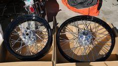 http://motorcyclespareparts.net/genuine-harley-davidson-oem-take-off-fxstd-wheels-black-rr-17x4-12-fr-21x2-15/GENUINE HARLEY DAVIDSON OEM TAKE OFF FXSTD WHEELS BLACK RR 17x4-1/2, FR 21x2.15