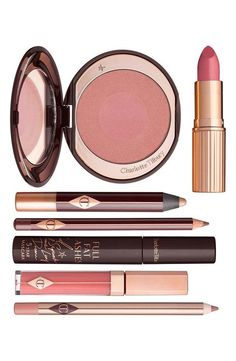 Shop The Ingénue makeup set; everything you need for a glowing, pretty makeup look including shimmering cream eyeshadow, coral lipstick and pink blush. All Things Beauty, Beauty Make Up, Classic Eyeliner, Charlotte Tilbury Makeup, Eyeshadow Pencil, Coral Lipstick, Mascara, Beauty Hacks, Beauty Essentials
