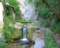 Moustiers Sainte Marie, at the entrance of Les Gorges du Verdon.  Spectacularly beautiful