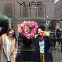 @elenasuarezandco team with their lovely flower reef for YUBE Valetine's Day. #flowers #spanishtalent #halston #springcollections #wed...