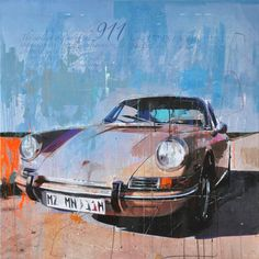 Markus Haub Porsche 911 brown Edition auf Metall (Dibond) ab 25 x 25 cm ab 49,00 € http://www.artfan.de/haub-markus-porsche-911-brown-kunst-kaufen-junge-kunstler.html