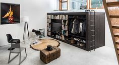 Designer cria móvel multifuncional para pequenos apartamentos - Imóveis - O Dia