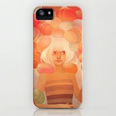 Glow iPhone Case by loish