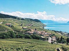 Lausanne Switzerland Les Terrasses de Lavaux Lausanne, Visual Diary, Dolores Park, Travel, Terraces, City, Trips, Viajes, Traveling