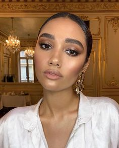 Are they just pretty or do they truly deserve a place in your skincare routine? Here are all facts. Natural Glam Makeup, Glam Makeup Look, Natural Wedding Makeup, Bridal Makeup, Eye Makeup, Tan Skin Makeup, Asian Makeup, Natural Beauty, Wedding Makeup For Brown Eyes