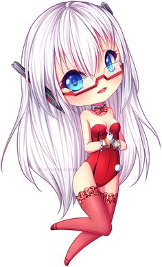 chibi commission for Eltherzu Awn awn such cute character, I enjoyed shading her hair *u* I hope you like it dear! - - - Made in Paint Tool Sai Art (c) Hyanna-Natsu Character . Dibujos Anime Chibi, Cute Anime Chibi, Kawaii Chibi, Kawaii Anime, Anime Girl Hot, Anime Art Girl, Manga Girl, Chibi Characters, Cute Characters