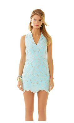 Check out this product from Lilly - Estella High Collar Shift Dress  http://www.lillypulitzer.com/product/dresses/estella-high-collar-shift-dress/c/38/8207.uts