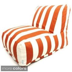 Shop for Indoor/Outdoor Vertical Stripe Bean Bag Chair Lounger. Get free shipping at Overstock.com - Your Online Garden