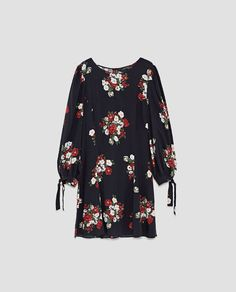 Image 8 of FLORAL MINI DRESS from Zara