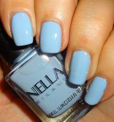 Wendy's Delights: Nella Milano Nail Lacquer - Periwinkle Pucker @Nella_Milano