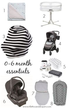 Baby 0-6 month essentials, what you really need