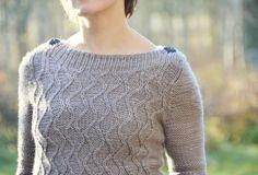 Veera Valimaki's blog... Flowing Lines sweater