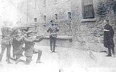 Four anti-treaty Irish Republicans Rory O'Connor, Liam Mellows, Richard Barrett and Joe McKelvey were shot. Ireland 1916, Dublin Ireland, Irish Free State, Easter Rising, Michael Collins, Irish Roots, Fighting Irish, Historical Fiction, History Facts