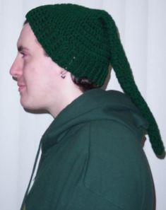 "Zelda ""Link Hat"" *Pattern Included* - CROCHET  handmade gifts for men on Craftster.org"