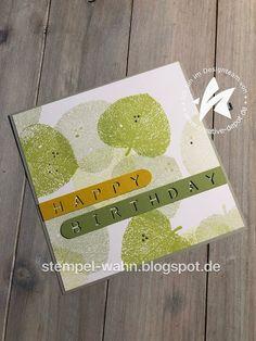Stempel-Wahn: Geburtstagskarten