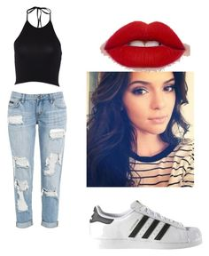 """""""Untitled #4"""" by stepha9763 on Polyvore featuring adidas"""
