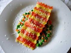 Destination Hotels Resorts Recipe Contest | Zebra-Striped Ravioli with Cheese, Peas and C