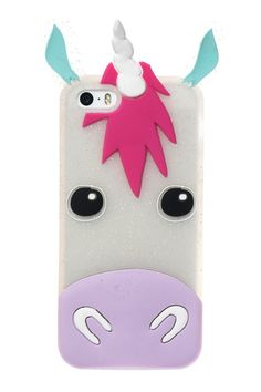 Skinnydip London Unicorn iPhone 5 Case http://www.skinnydiplondon.com/collections/phone/products/iphone-5-5s-unicorn-silicone-case