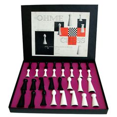 Herman Ohme chess pieces