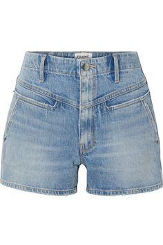 NEW LOOK DENIM JEAN SHORTS Raw Cut Ladies Casual FADED Hotpants Plus 18-28