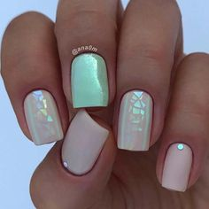 Want some ideas for wedding nail polish designs? This article is a collection of our favorite nail polish designs for your special day. Do It Yourself Nails, How To Do Nails, Nail Polish Designs, Nail Art Designs, Cute Nails, Pretty Nails, Hair And Nails, My Nails, Wedding Nail Polish