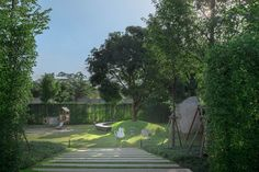 Labaris酒店景观设计,考艾 / Shma - 谷德设计网 Landscape Design, Golf Courses, Sidewalk, Outdoor, Outdoors, Landscape Designs, Side Walkway, Walkway, Outdoor Games