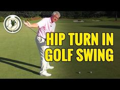 Hip Turn In The Golf Swing Lesson - YouTube #AllAboutGolfAndGolfThings!