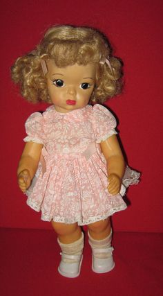 """Vintage 16"""" BLonde Terri Lee Doll. Truly unique and beautiful Doll!  #TerriLee #DollswithClothingAccessories"""