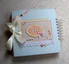 Álbum de bebé, personalizado bebé niña fotos, primer libro de la memoria año del bebé, álbum del bebé