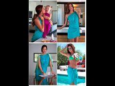 Hipknoties Multi Way top Convertible Dress, soooo many ways to wear this thing!