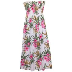 0c0b9e796d03 99 Best Hawaiian Floral Dresses images | Floral dresses, Flower ...