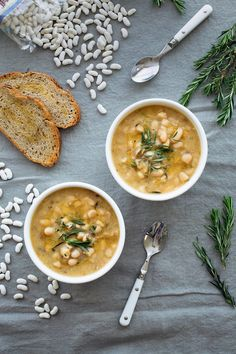 soup with fresh rosemary is packed with flavor healthy protein and ...
