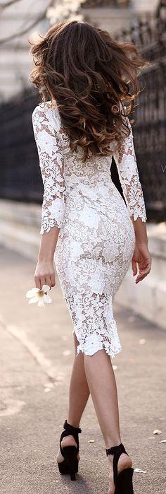 Ivoire Lace Dress
