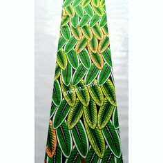 Green leaves 🌱🌿 shop for your beautiful fabric, contact us via whatsApp: 08062229971 or DM for price