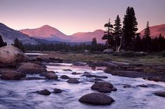 The mountains are calling and I must go. Tuolumne Meadows, John Muir Trail