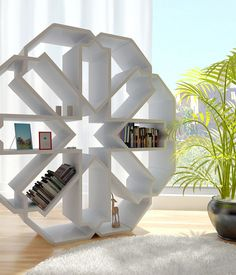 Zelli is a bookcase that takes the graphic system of a structure made of zellige (Moroccan mosaic). Zellige making is considered an art in itself. The art is transmitted from generation to generation by maâlems (master craftsmen)