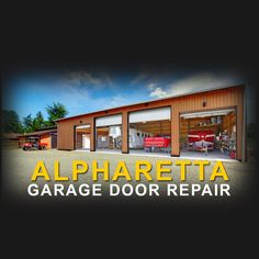 """""""Contact us at Alpharetta Garage Door Repair to have your garage system professionally modified, repaired, inspected or refurbished."""""""