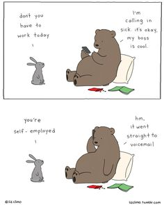 93 New Incredibly Cute Animal Comics By Simpsons Illustrator Liz Climo - Beauty Black Pins Funny Animal Comics, Cute Comics, Cute Funny Animals, Animal Memes, Funny Comics, Comedy Comics, Funny Bunnies, Animal Humor, Funny Cartoons