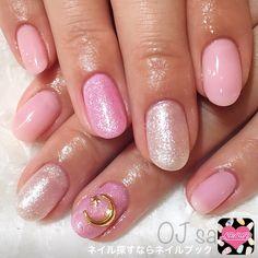 かわいいネイルを見つけたよ♪ #nailbook #nails #naildesign  #tokyo #pink #ojsalon #広尾 #恵比寿
