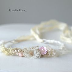 Newborn Flower Headband. Newborn Headband. by verityisabelle
