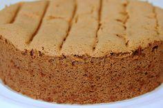 basic chocolate sponge ..good base for so many goodies!