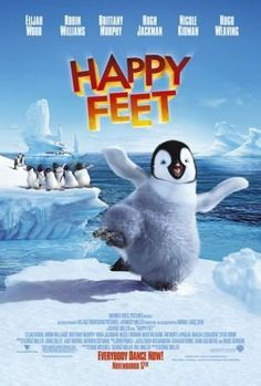 Happy Feet -- Away from home for the first time, Mumble meets a posse of decidedly un-Emperor-like penguins - the Adelie Amigos. Led by Ramon, the Adelies instantly embrace Mumble's cool dance moves.2006♥♥♥