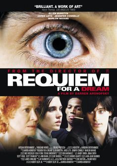 Requiem For A Dream directed by Darren Aronofsky #film #drama #drugs