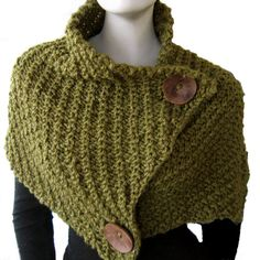 Giant Retro Cowl - Knitting Pattern