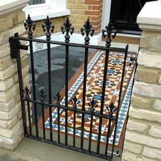 London Mosaic - Decorative Victorian Path Tiles